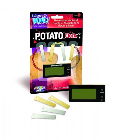 Science MAD! Potato Clock, Various