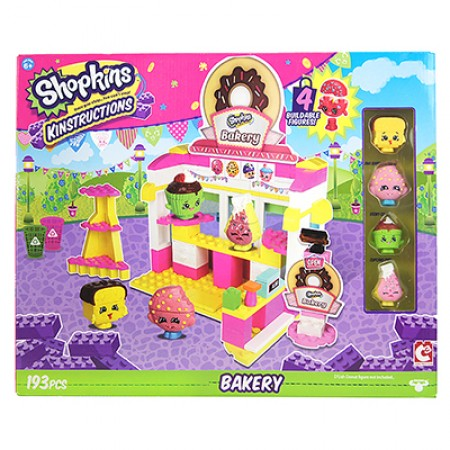 Shopkins Kinstructions Bakery