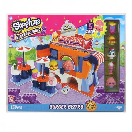 Shopkins Kinstructions Burger Bistro Pack