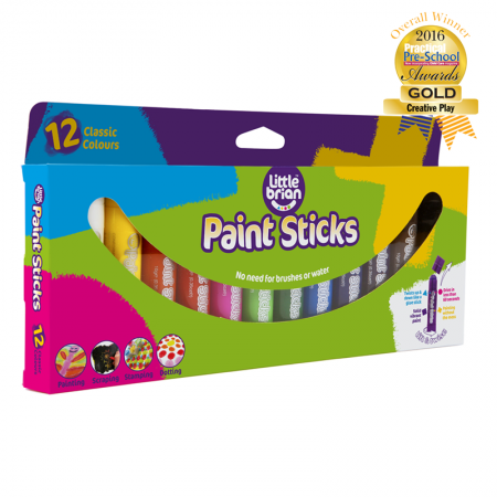 Paint Sticks Classic Colours 12 pack